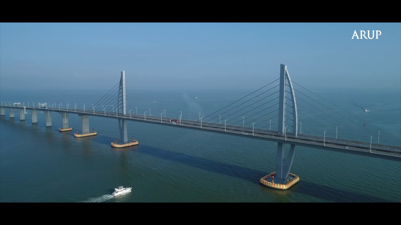 Designing bridge and the artificial islands for Hong Kong