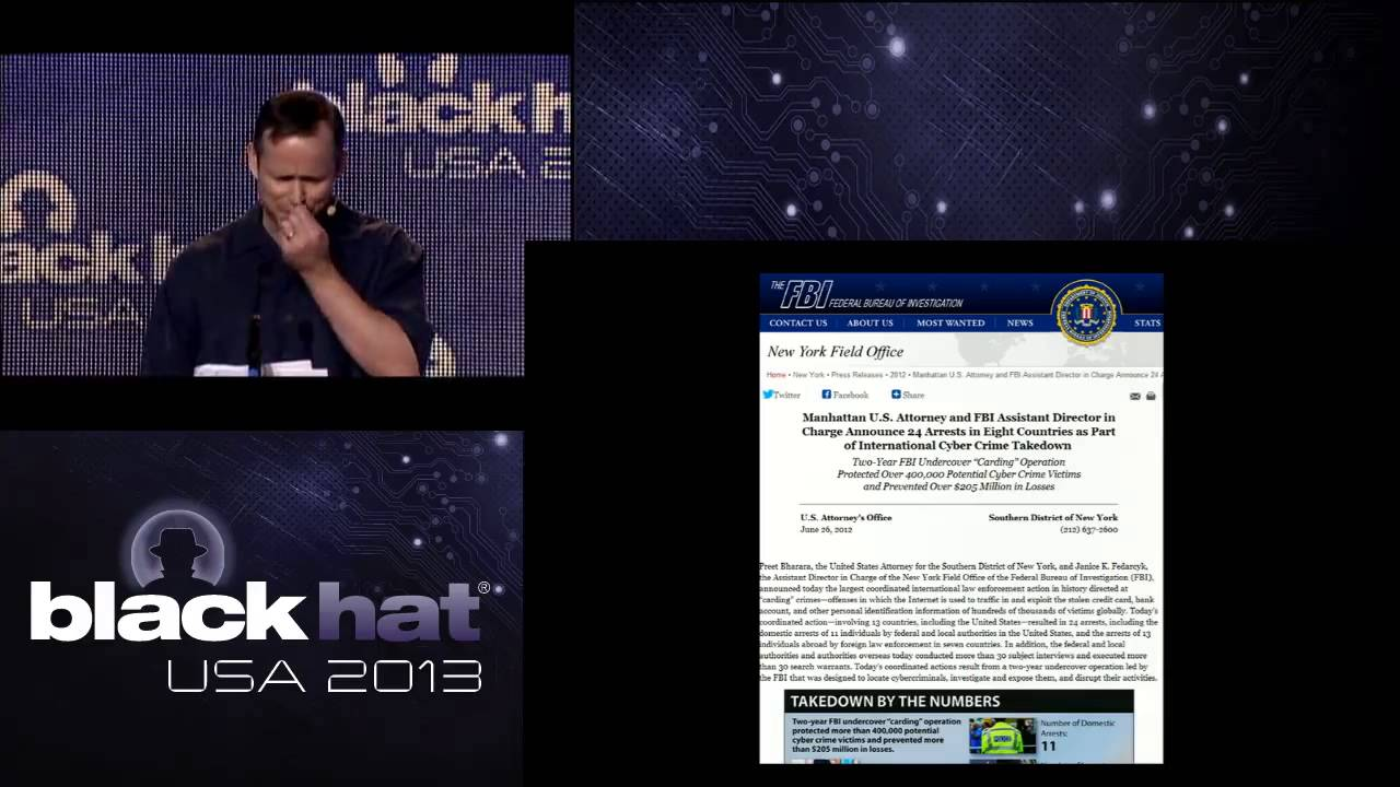 Black Hat USA 2013 - Spy-Jacking the Booters