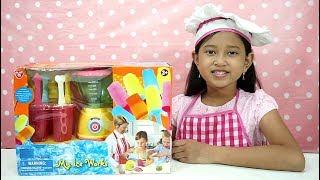 Mainan Anak Blender Playset Toys 💖 Bisa Membuat Es Loli Buah Beneran 💖 Let's Play Jessica Jenica