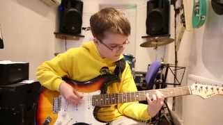 Ace Of Spades Motorhead guitar Cover By Stuart age 13