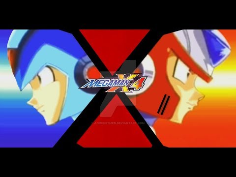 the blue wizard project mega man x4 part 7 youtube