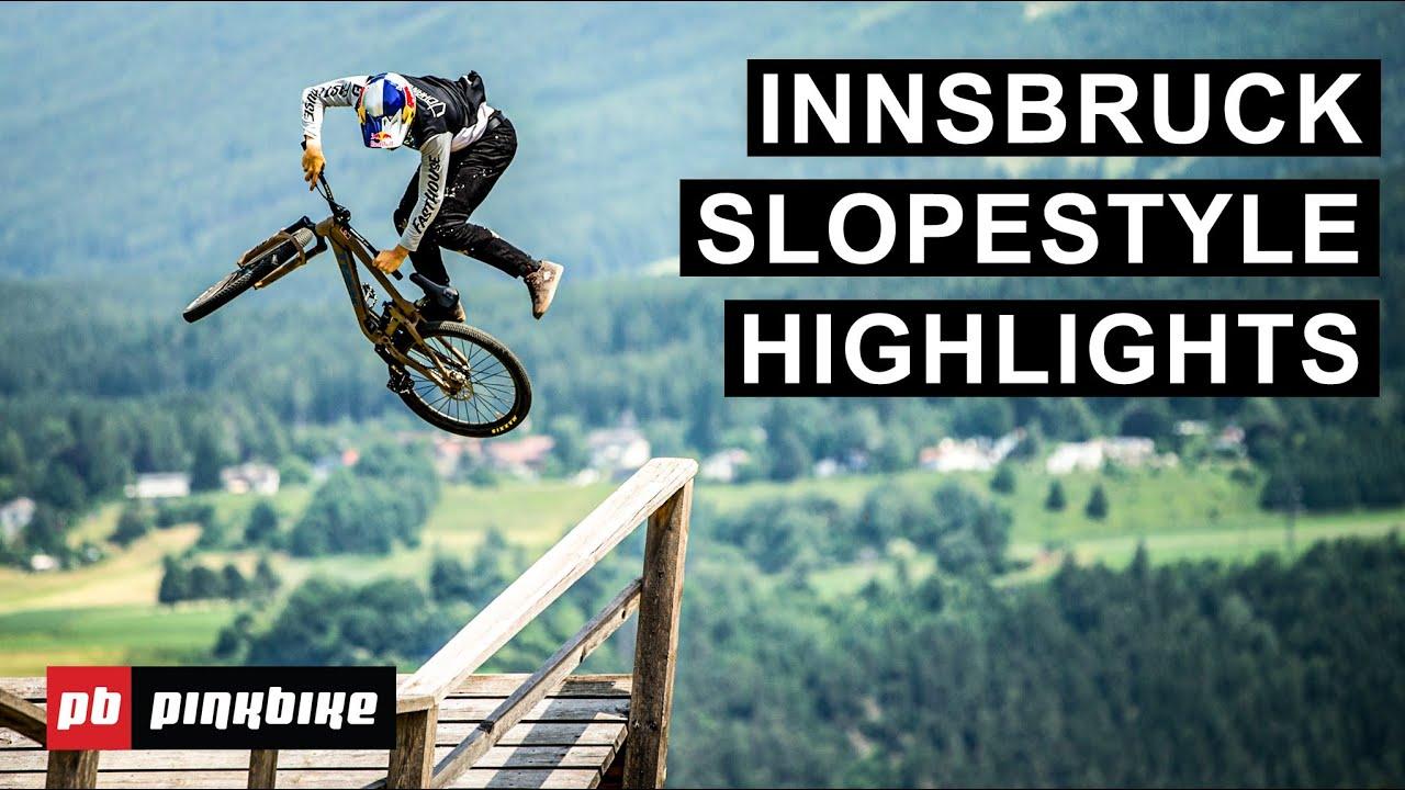 Insane Slopestyle Riding - Highlights from Slopestyle at Crankworx Innsbruck 2021