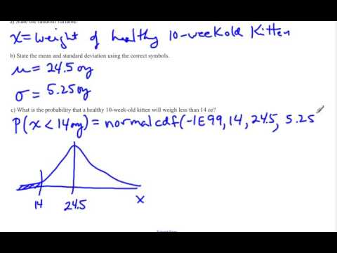 Probabilities Of Normal Distribution Application