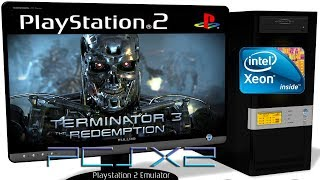 PCSX2 1.5.0 [PS2] - Terminator 3: The Redemption [HD-Gameplay] Settings. OpenGL #1