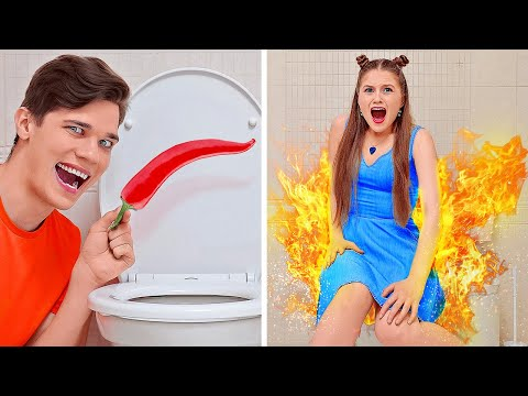 BEST AWESOME PRANKS ON FRIENDS || TikTok DIY Tricks Compilation To Pull On Family By 123 GO! BOYS