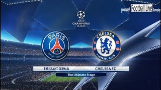 PES 2018 | PSG vs Chelsea FC | UEFA Champions League (UCL) | Gameplay PC