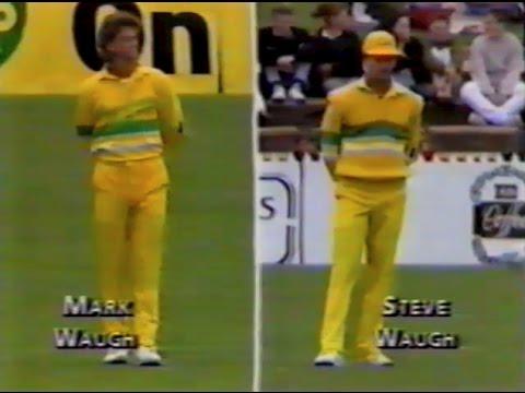 Merv Hughes ODI debut - 1988/89 Australia v Pakistan @ Adelaide Oval