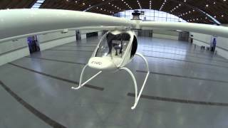 Volocopter VC200 - all electric flying machine looks cool, sounds ultra quiet