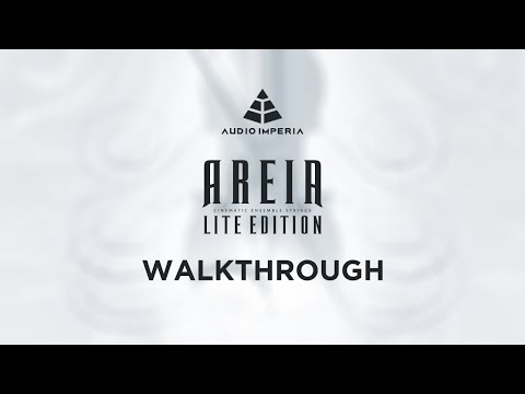 """Audio Imperia """"Areia Lite Edition"""" Walkthrough"""