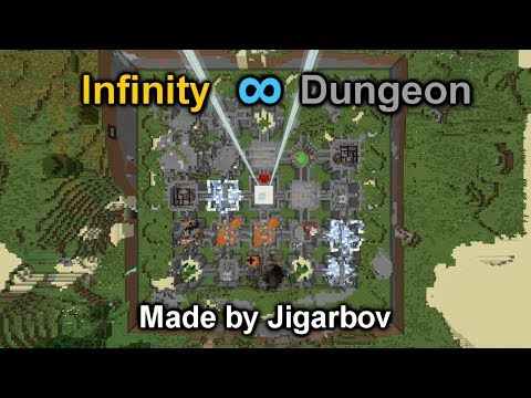 Infinity Dungeon - A random dungeon crawler map using /clone