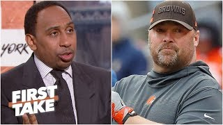Most interesting new NFL coach? Stephen A., Max disagree on Freddie Kitchens, Adam Gase | First Take