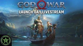 Achievement Hunter Live Stream - God Of War