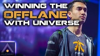 How Fnatic.UNiVeRsE Wins the Offlane | Lessons From the Leaderboard | Pro Dota 2 Guides