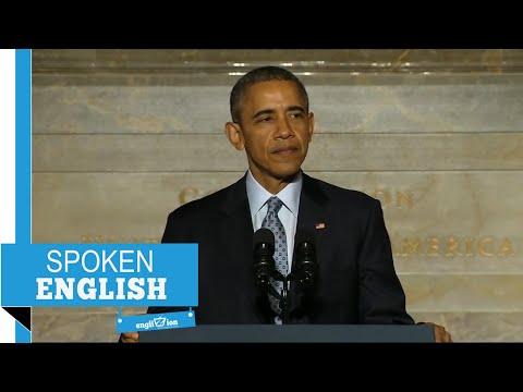 Englizion - تعلم اللغة الانجليزية من المشاهير - Barack Obama - Immigration Speech (1/7)