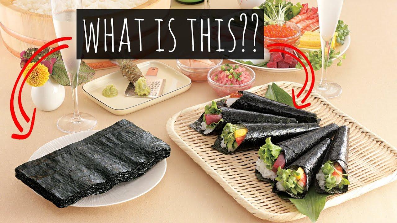 nori seaweed, japanese cuisine/food and yamamoto noriten honten