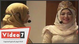 بالفيديو : شاهد ملكة جمال المحجبات - فخورة أننى استطعت تمثيل ديني بالحجاب