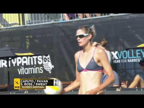 AVP Seattle Open 2017 Women's Semi-Final: Caputo/Pavan vs Ross/Sweat
