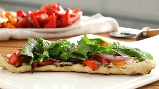 Must-Make Grilled Vegetable Pizza - Everyday Food with Sarah Carey