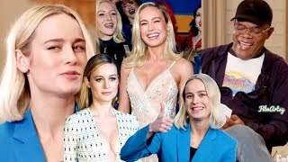 Captain Marvel Bloopers and Funny Moments(Part-1) - Brie Larson Funny