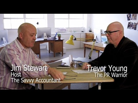 The Savvy Accountant EP04 | Content marketing, social media and Trevor Young