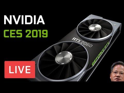 Nvidia's CES Announcements - LIVE!
