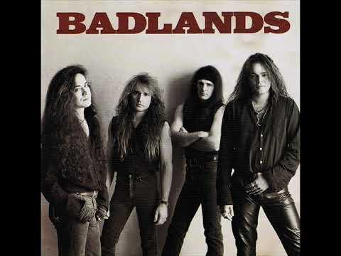 Badlands 1989   Original  Press