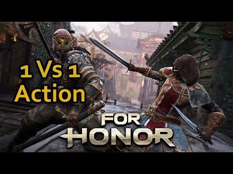 For Honor Gameplay German #07 - 1vs1 Kämpfe - Lets Play For Honor