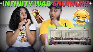 """How Avengers Infinity War Should Have Ended"" REACTION!!"