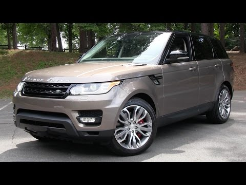2015 Range Rover Sport Supercharged Start Up, Road Test, and