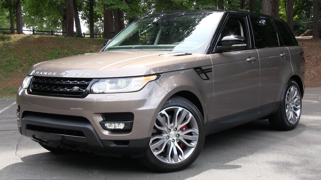 2015 range rover sport supercharged start up road test and in depth review youtube. Black Bedroom Furniture Sets. Home Design Ideas