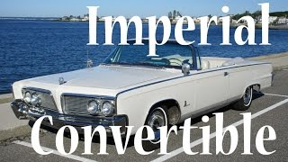 1964 Chrysler Imperial Convertible For Sale or Trade. motorlandamerica.com