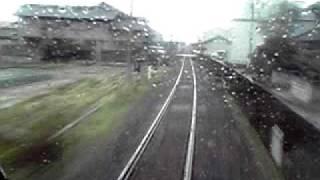 ローカル線(JR徳島本線 鴨島・麻植塚間)