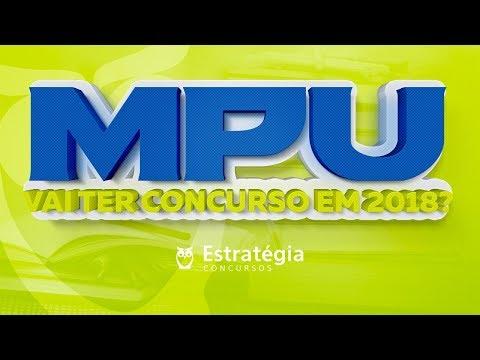 MPU - Vai ter concurso em 2018?