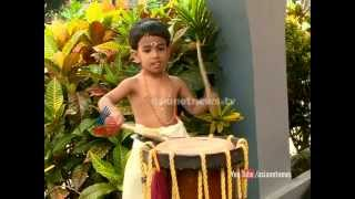 """Little Chenda player """" Surya Madhavan """" Child editor 2014"""