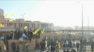 Protesters in Green Zone attempt to storm U.S. embassy in Baghdad