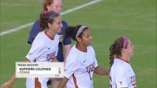 LHN Digital Highlights: Texas vs Northern Colorado [September 16, 2018]