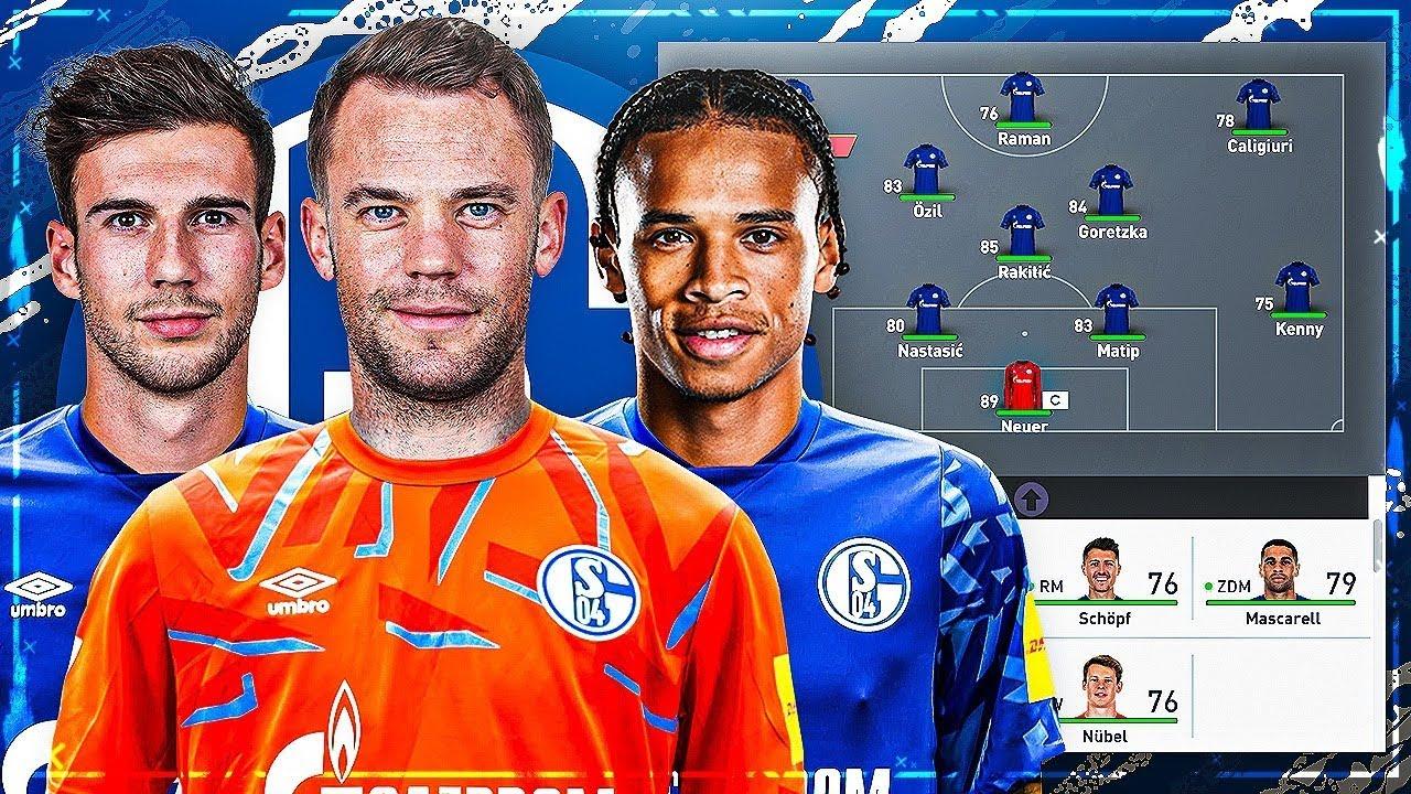 Schalke Spieler 2020