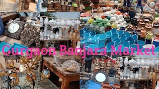 Banjara market Gurgaon // India's cheapest Home Decor & Furniture Market with latest design