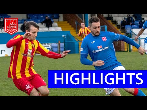 Stranraer Albion Rovers Goals And Highlights