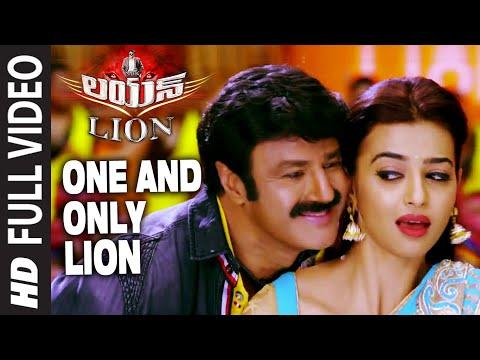 One And Only Lion Full Video Song    Lion    Nandamuri Balakrishna, Trisha Krishnan, Radhika Apte