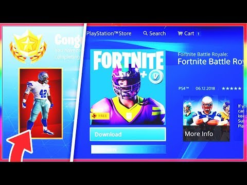 How TO GET The NEW NFL FOOTBALL SKINS In FORTNITE! (NEW Fortnite X NFL Skins!)