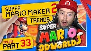 SUPER MARIO MAKER 2 ONLINE 👷 #33: SM3DW Champions Road & Hardcore Jumps
