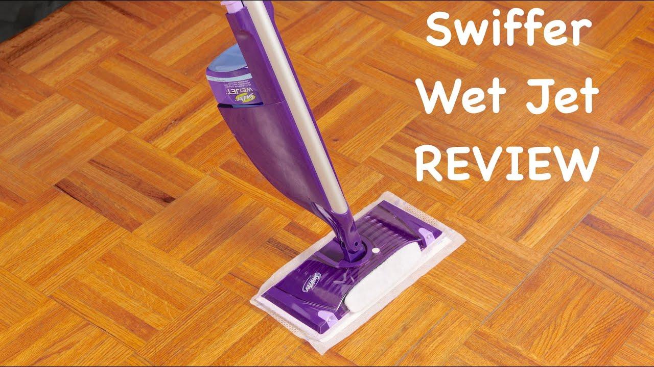 Swiffer Wet Jet Review  YouTube