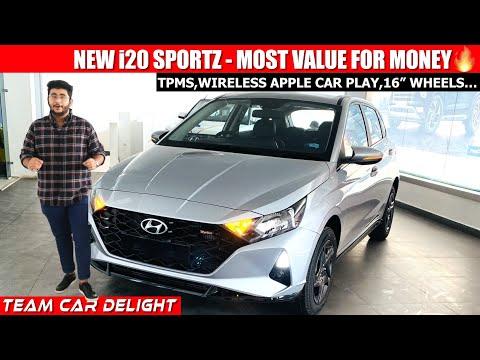 Hyundai i20 Sportz - Walkaround Review with On Road Price | i20 2021