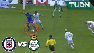 ¡Increíble! Dejan ir una gran oportunidad | Cruz Azul 1 - 0 Santos | Liga Mx - CL2020 J3 | TUDN
