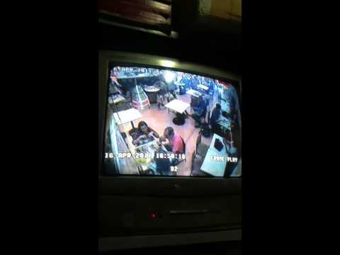 bag thief in Manila mall