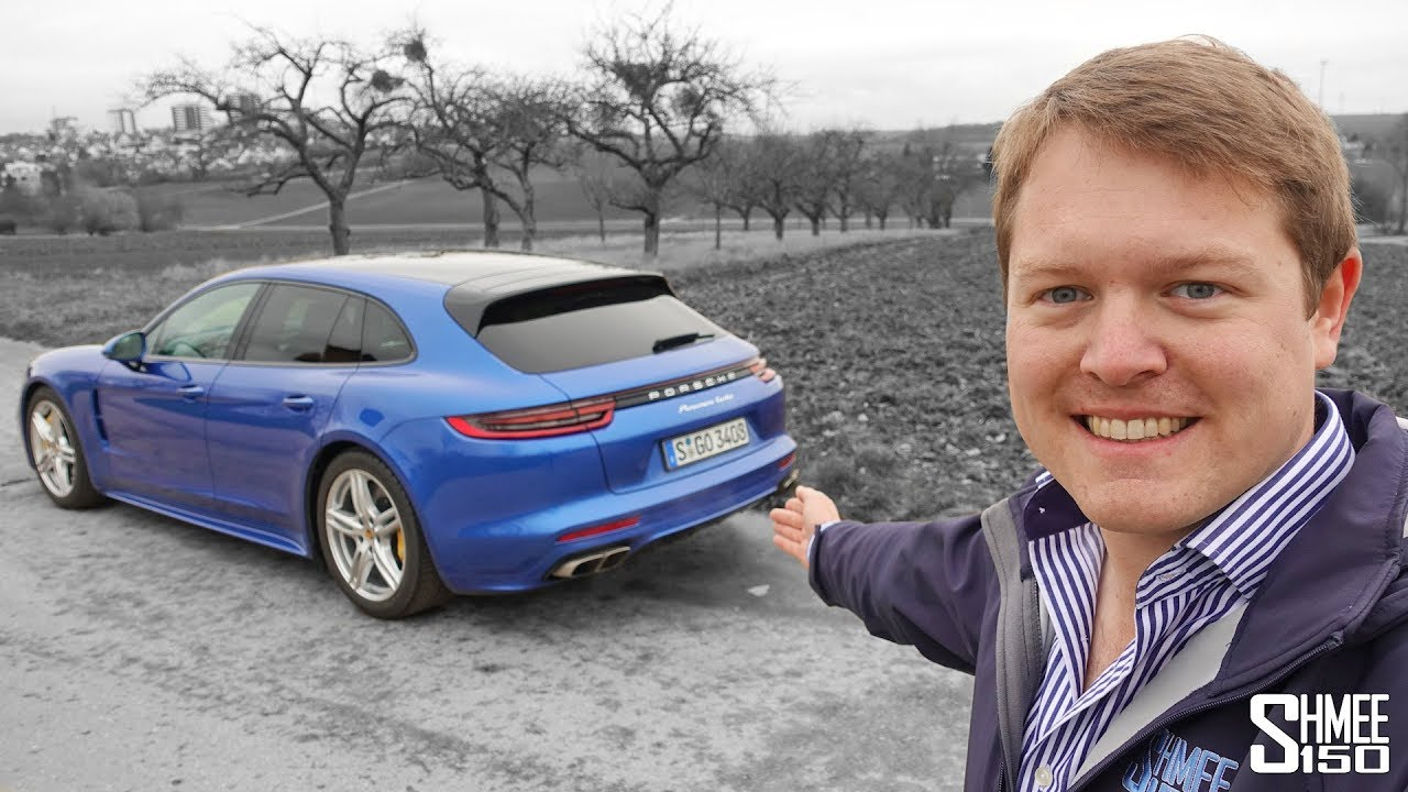 Panamera Turbo Sport Turismo - They Saw Me Coming! | TEST DRIVE