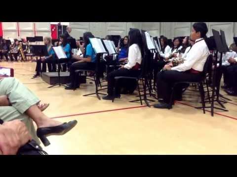 Desert Springs Middle School-Percussion Ensemble