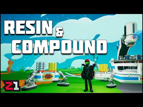 How To Find Resin and Compound! Astroneer Tips and Tricks Ep 1 | Z1 Gaming
