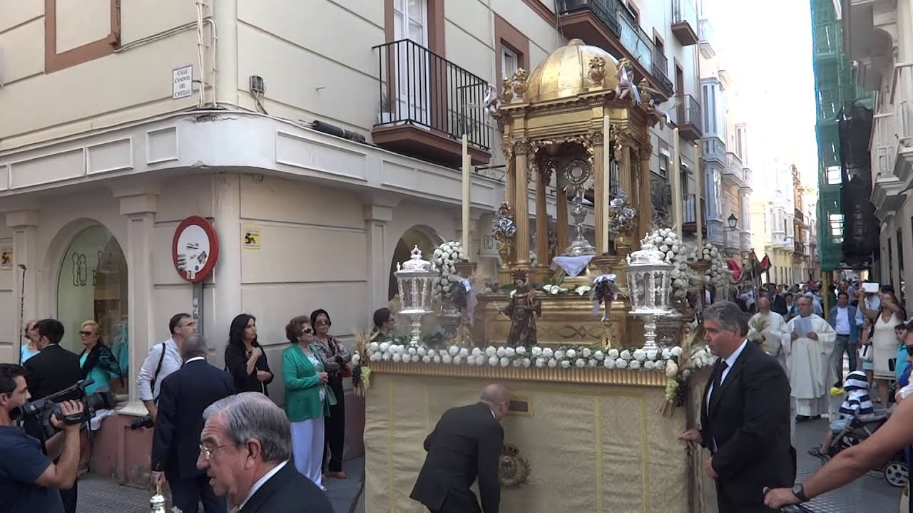 Resultado de imagen de Corpus Chico de Cádiz.